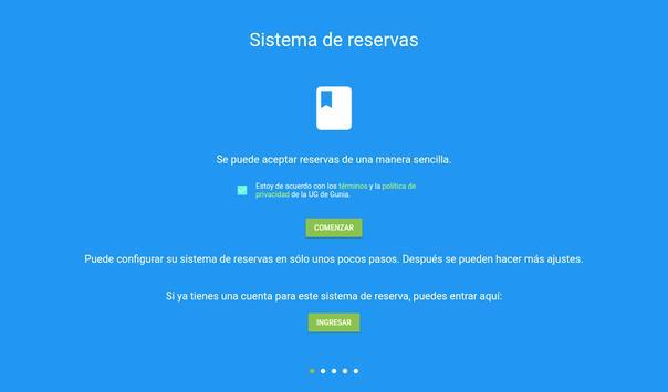 Sistema de reserva de citas captura de pantalla 8