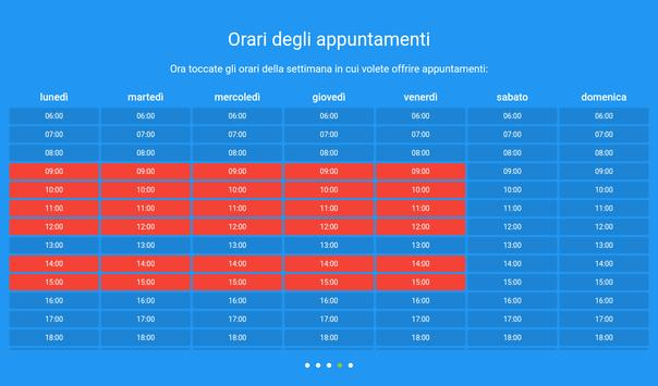 6 Schermata Sistema di prenotazione appuntamenti