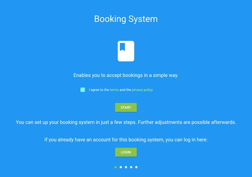 Booking System 截图 14