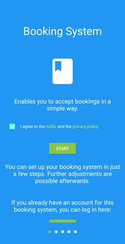 Booking System 截图 2