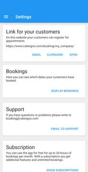 Booking System 截图 5
