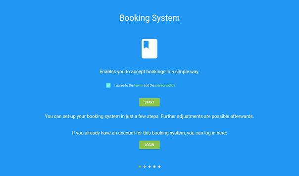 Booking System 截图 8