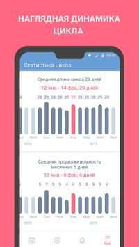 Женский календарь месячных, овуляции, менструаций скриншот 4