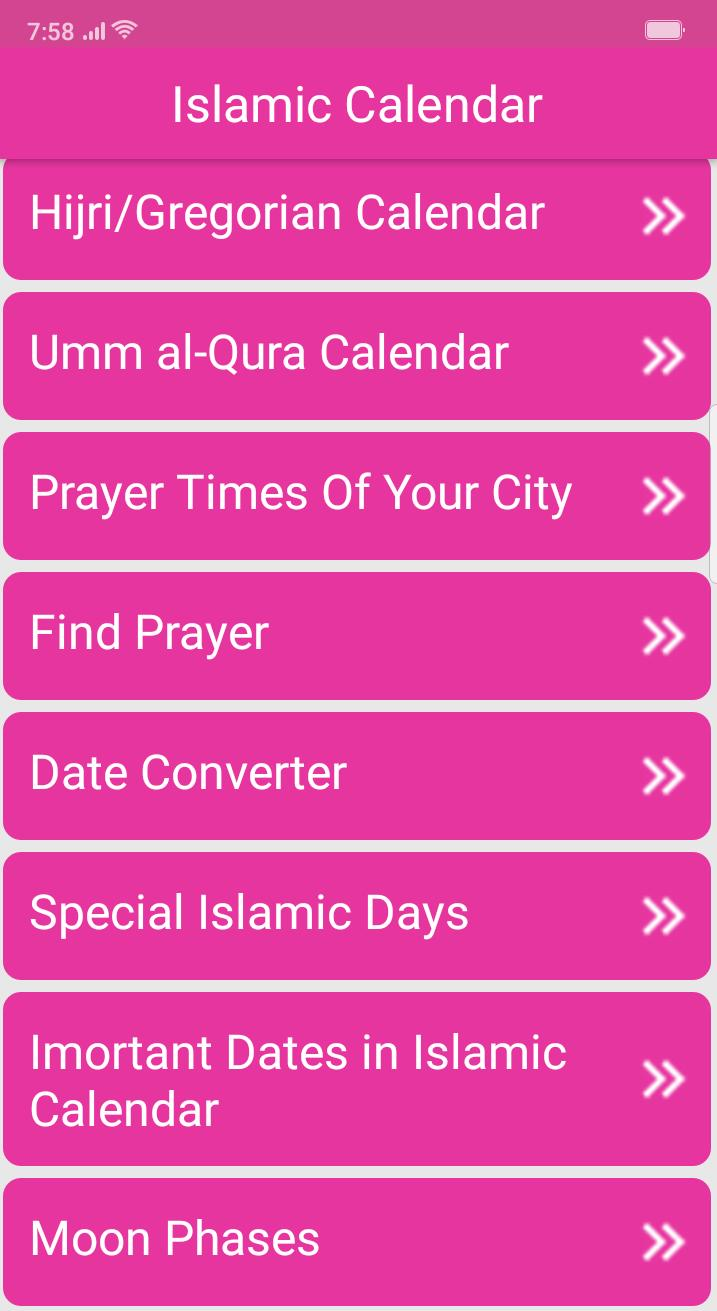 Islamic Calendar for Android - APK Download