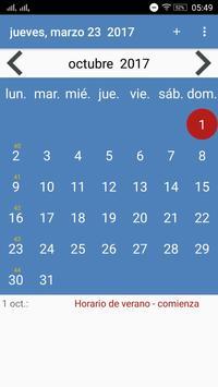 Calendario Paraguay poster