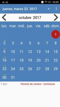 Calendario Paraguay screenshot 16