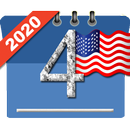 USA Calendar with Holidays 2020 APK Android