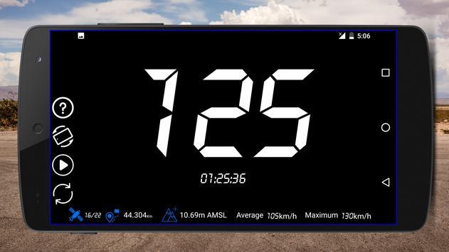 GPS спидометр: одометр и счетчик пути скриншот 1
