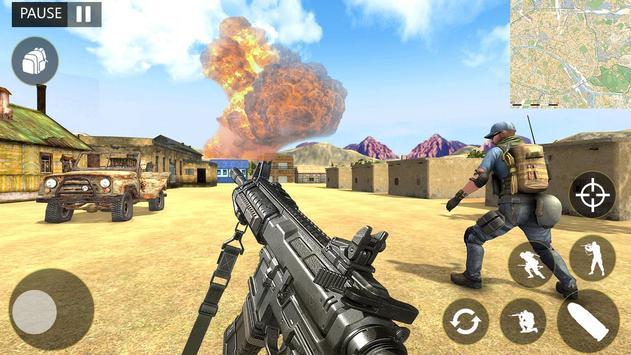 Call of Gun Fire Free Offline Duty Games screenshot 2