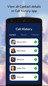 Call History & Call Detail Of Any Number screenshot 1