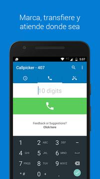 Callpicker screenshot 2
