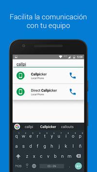 Callpicker screenshot 2
