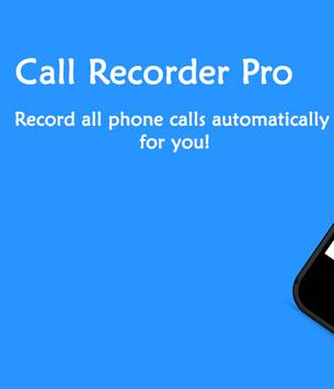 Call Recorder Pro poster