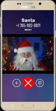 a Live video call santa christmas 2019 poster