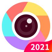 Candy selfie -güzellik kamera tatlı selfie 2020 simgesi