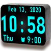 Riesige Digitale Uhr Zeichen