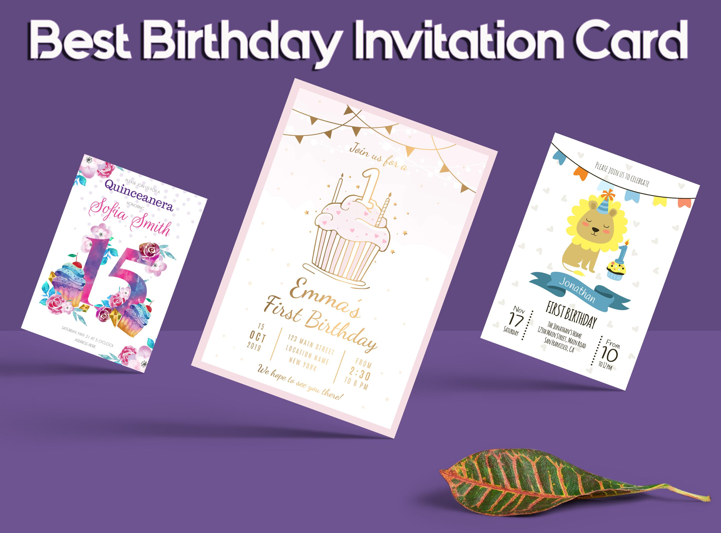 Baby Shower Invitation Card Maker For Android Apk Download