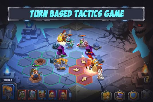 Tactical Monsters Rumble Arena -Tactics & Strategy poster