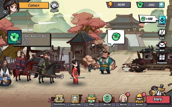 Tactical Three Kingdoms (3 Kingdoms) -T3K Strategy ảnh chụp màn hình 15