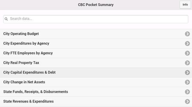 CBC Pocket Summary screenshot 1