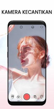 Kamera selfie -Kamera kecantikan & Kamera  rias poster