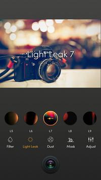 Film kamerası - hafif sızıntı, retro, analog film Ekran Görüntüsü 17