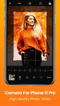 Camera for iPhone 11 photo editor & beauty camera poster
