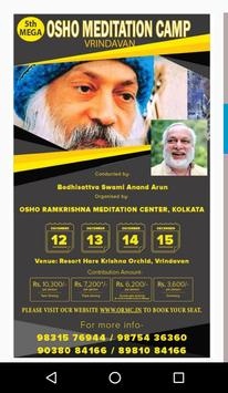 Osho Camps poster