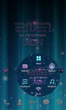 2NE1 AON LINE Launcher theme screenshot 3