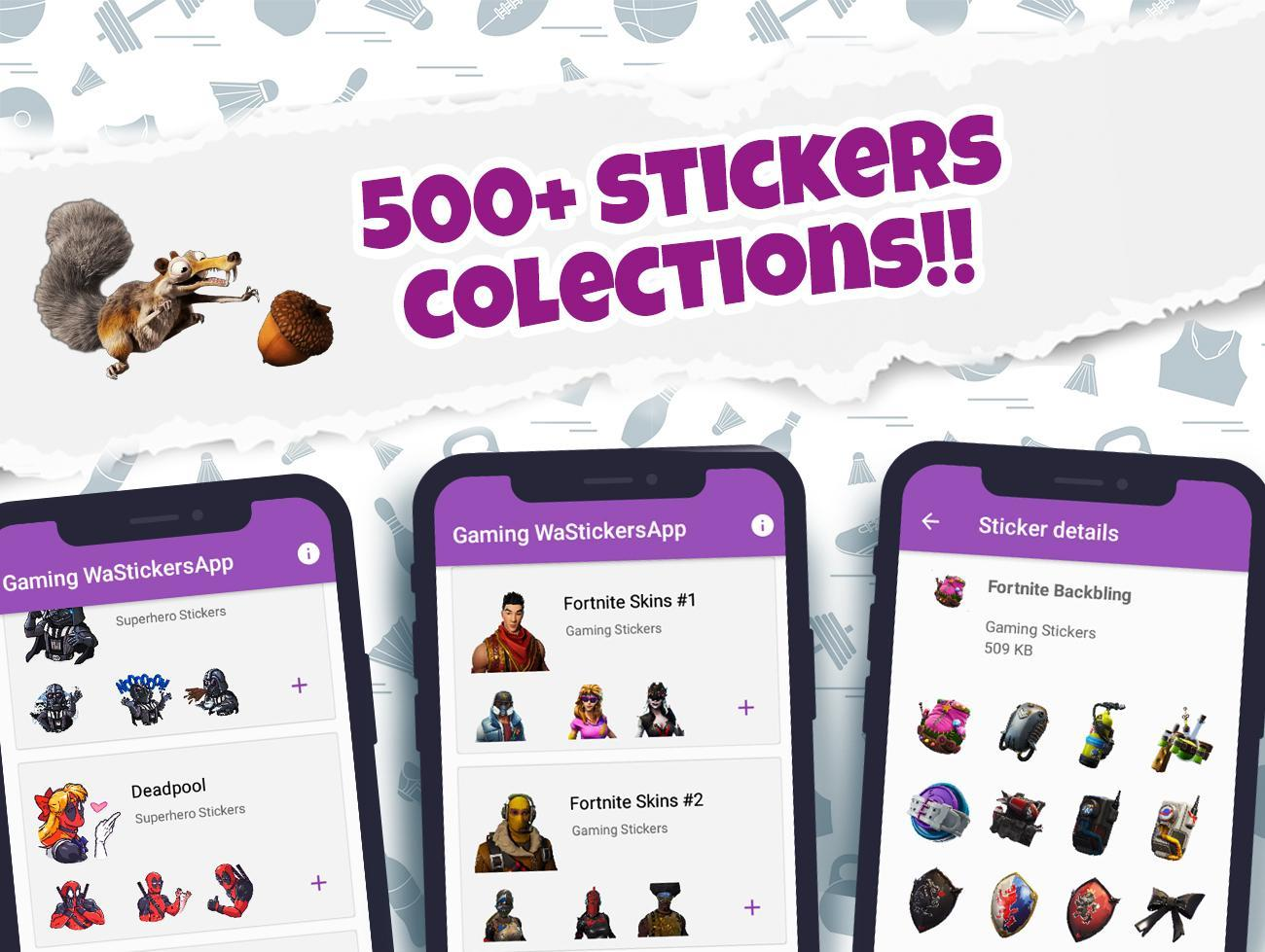 New Game Stickers for WAStickerApps for Android - APK Download