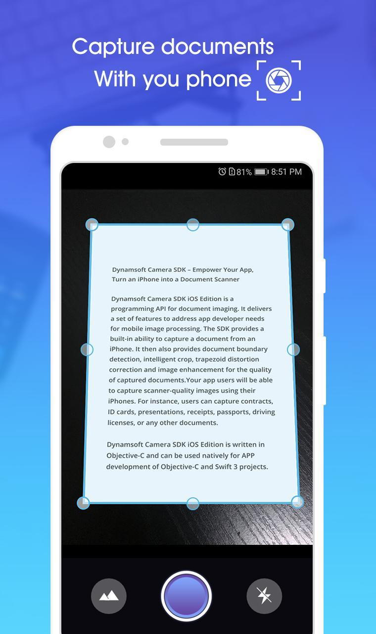 Camera Scanner : Fast Scan Documents, PDF Scanning for Android - APK