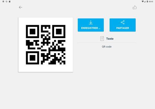 Scanner code QR & code barres (pas de pubs) capture d'écran 14