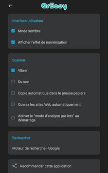 Scanner code QR & code barres (pas de pubs) capture d'écran 23