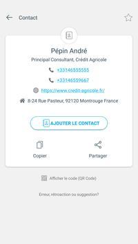 Scanner code QR & code barres (pas de pubs) capture d'écran 2