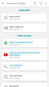 Scanner code QR & code barres (pas de pubs) capture d'écran 4