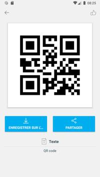 Scanner code QR & code barres (pas de pubs) capture d'écran 6