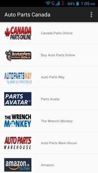 Auto Parts Canada screenshot 4
