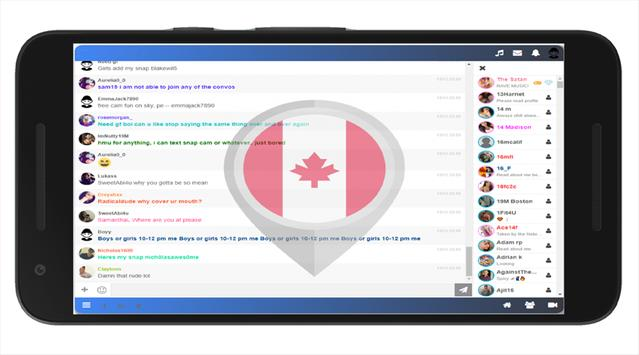 CANADA CHAT FREE screenshot 3