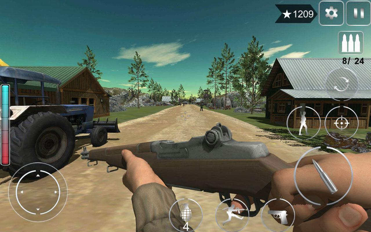 Android Games Apk >> Call Of Courage Ww2 Fps Action Game For Android Apk Download