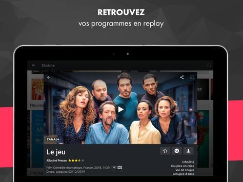 myCANAL, vos programmes en live ou en replay capture d'écran 20