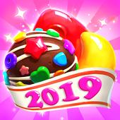 Crazy Candy Bomb Sweet match 3 game MOD + APK