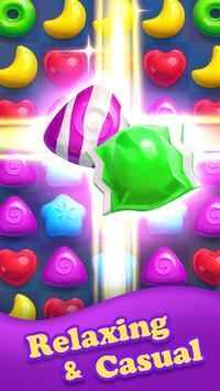 مجنون الحلوى الحلوى قنبلة المباراة 3 لعبة تصوير الشاشة 3