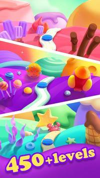 مجنون الحلوى الحلوى قنبلة المباراة 3 لعبة تصوير الشاشة 1