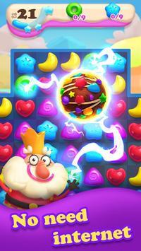 مجنون الحلوى الحلوى قنبلة المباراة 3 لعبة تصوير الشاشة 2