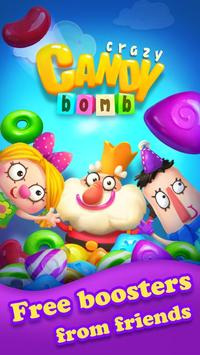 مجنون الحلوى الحلوى قنبلة المباراة 3 لعبة تصوير الشاشة 5