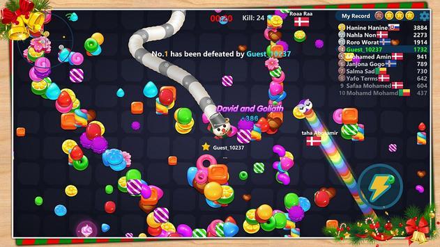 Snake Candy.IO screenshot 1