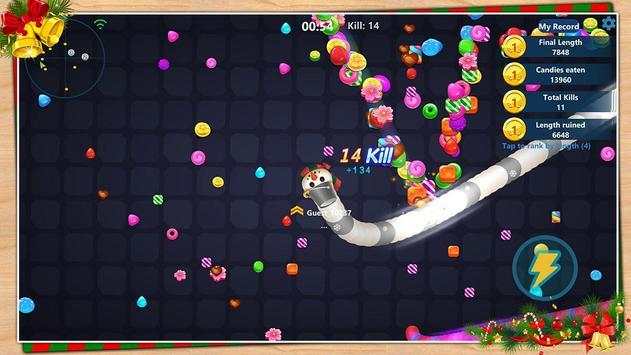 Snake Candy.IO screenshot 2