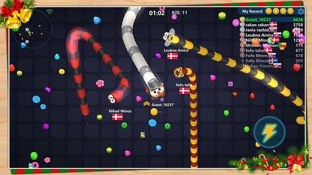 Snake Candy.IO screenshot 3