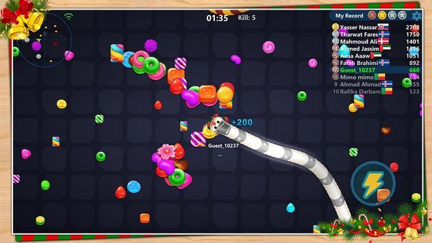 Snake Candy.IO screenshot 5