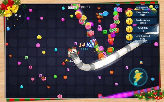 Snake Candy.IO screenshot 8